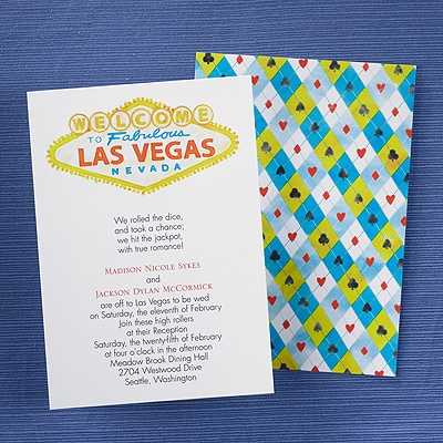 wedding invitations las vegas nv - new wedding, Wedding invitations